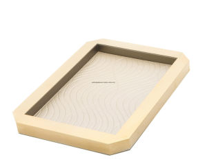 Room Leather Tray, Guestroom Service Tray, Coffee Tray (PB007)