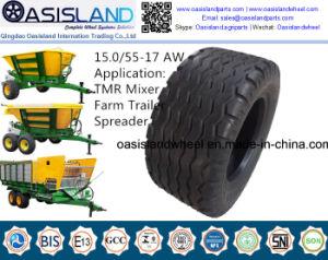 Farm Tire 15.0/55-17 for Tmr Mixer, Farm Trailer, Baler pictures & photos