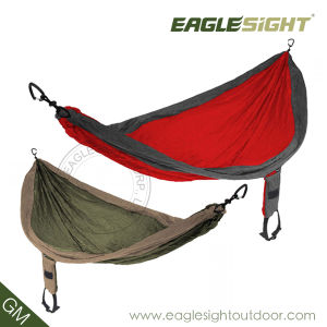 Parachute Nylon Hammock with Compression Straps Made-in-China