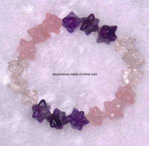 Fashion Gemstone Crystal Beaded Jewelry Bracelet<Esb01238> pictures & photos