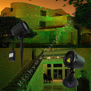 Starry Laser Lights Projection Christmas Lights Moving Laser FDA Approved Star Projector Landscape Lights with RF Wireless Remote (Green & red) pictures & photos