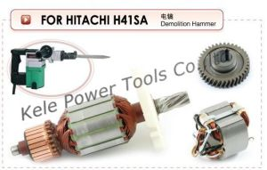 Power Tool Parts (Armatures, Stators, Gear Sets for Power Tools Hitachi H41SA) pictures & photos
