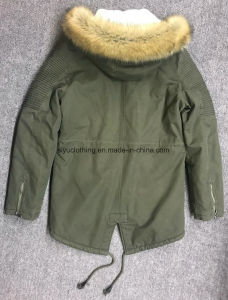 High Quality Men Woodland Waterproof Winter Military Jacket pictures & photos