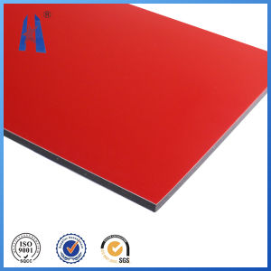 Exterior Decoration Red Color Aluminum Composite Panel pictures & photos