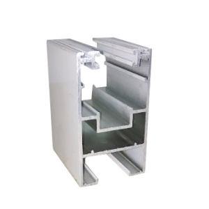 Aluminium Extrusion for Heavy Sliding Door Profile (powder coating white) pictures & photos