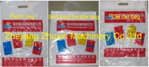 Automatic Soft Loop Handle Bag Making Machine (CY800ZD) pictures & photos