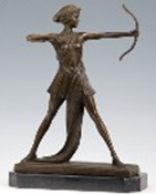Bronze Sculpture Figure Statue (HYF-1003)
