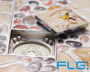 Flg Brass Stealth Stone Bathroom Shower Drain pictures & photos