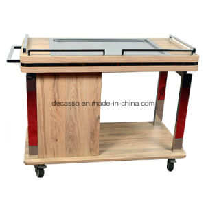 New Model Hotel Service Dining Cart (DE31) pictures & photos