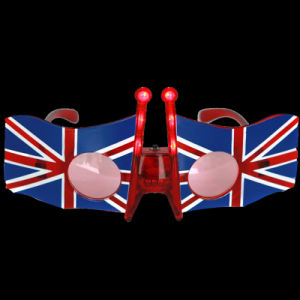 British Flag LED Flashing Glasses (QY-LS300U) pictures & photos