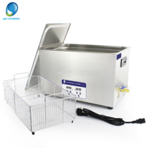 30L Bench Top Ultrasonic Cleaner with Heating Function for Oil Filter pictures & photos