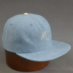 5-Panel Chambray Fabric Soft Panel Snpabck Hat pictures & photos