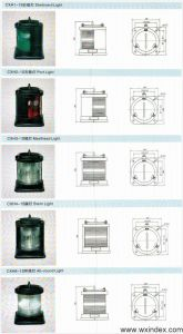 Cxh-1s Single-Deck Stainless Steel Navigation Signal Light