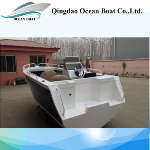 5m Side Console Aluminum Sport Fishing Boat pictures & photos