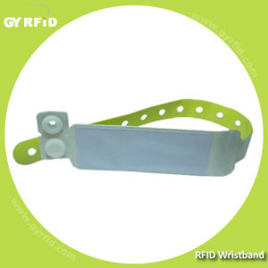 RFID Disposable Nfc Ultralight Ntag203 Wristband for Healthcare and Events Ticket pictures & photos