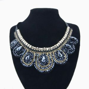 Fashion Blue Crystal Women Jewelry Necklace pictures & photos