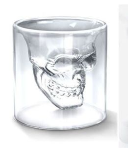 100ml Skeleton Wine Glass Shot Glass pictures & photos