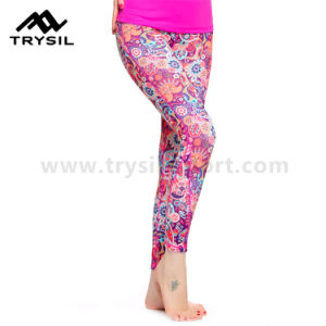 Ladies Sport Wear Sexy Vest Compression Leggings Women Yoga Pants Running Clothes Fitness Wear Gym Comfortable Garments pictures & photos