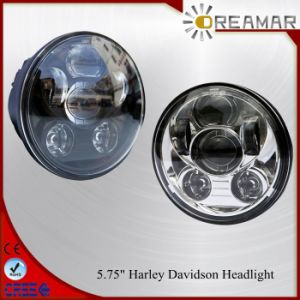 """40W 5.75"""" Orsam Headlight with DOT, E-MARK for Harley Davidson pictures & photos"""