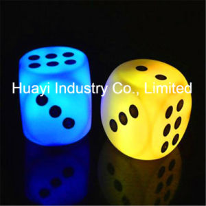 LED Glow Party Dice Lights pictures & photos
