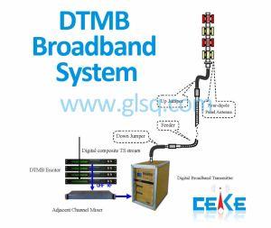 Ceke Terrestrial Digital TV Dtmb Wide-Band Frequency Transmission Solution