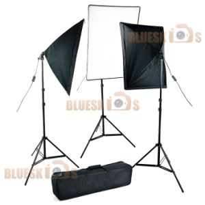 Studio Continuous Softbox Light Kit