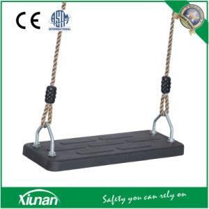 Rubber Board Flat Swing Seat with Rope pictures & photos