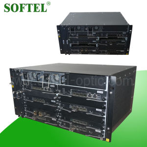 "New Design 5 U 19"" Max 40 Pon Ports U1.25 Gbps Optical Gepon Olt, FTTH Gepon Olt Optical Line Terminal pictures & photos"