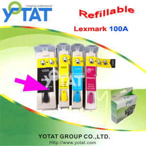 Refillable Ink Cartridge for Lexmark 100A / Compatible Ink Cartridge (