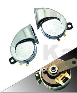 Japanese Spiral Horn, Sport Horn, Chrome Plated (JZHN 70C-06)