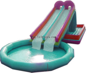 Inflatable High Water Slide (LILYTOYS-WS-03JO)