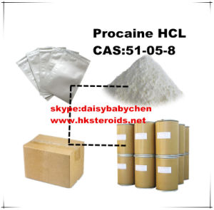 Procaine Hydrochloride/Procaine HCl /CAS 51-05-8 Acts on Peripheral Nerve