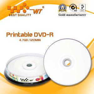 Printable Blank DVD-R 4.7GB 120min 16x (dvd-r 16x)