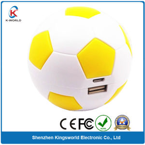 Promotion Football Mobile Power 6500mAh pictures & photos