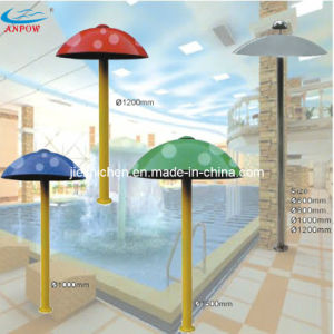 Swimming Pool Water Park Play Equipment Acrylic Water Mushroom