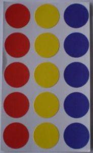 3-Color DOT Labels