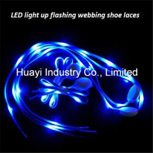 LED Light up Nylon Shoelaces pictures & photos