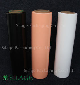Silage Corn Wrap Film Width250/500/750m, Color White/Black/Green Thickness: 20-25um pictures & photos