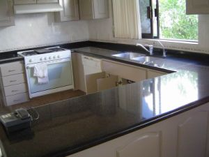 Absolute Black Granite Vanity Top and Kitchen Countertop pictures & photos