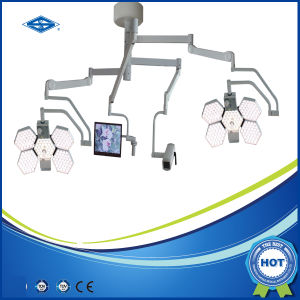 New Design Ceiling Mounted LED Shadowless Surgical Theatre Light with Ce (SY02-LED5+5-TV) pictures & photos