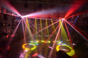 10W LED Moving Head Spot Disco DJ Stage Light pictures & photos