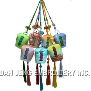 LED Embroidered Lantern pictures & photos