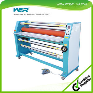 Top Selling Double-Side Hot Laminator (WER-1600FZX) pictures & photos