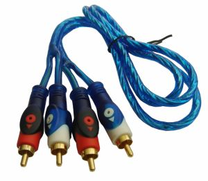 Braid Shielded Audio 2RCA Cable (WE-2308)