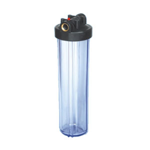 "20"" Big Fat Water Filter Housing with Brass or Plastic Port Optional and Double O Ring pictures & photos"