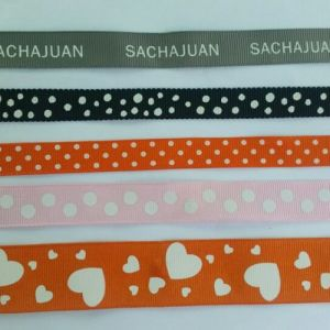 Wholesale Printed Grosgrain Decoration Ribbons (CGR-2012) pictures & photos