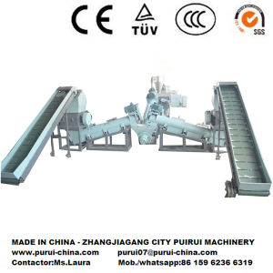 Waste Plastic Film PP Jumbo/Sack Bag Recycling Machine pictures & photos