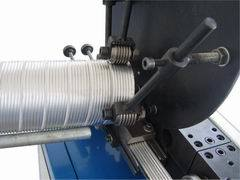 Spiral Flexible Aluminum Foil Duct Machine (Aluminum Pipe)