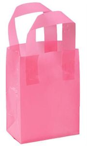 Frosted Plastic Shopping Bags With Handles pictures & photos