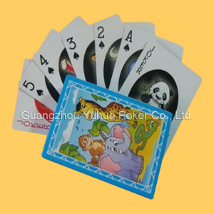 Custom Plastic Game Card Playing Cards Circle Playing Cards pictures & photos